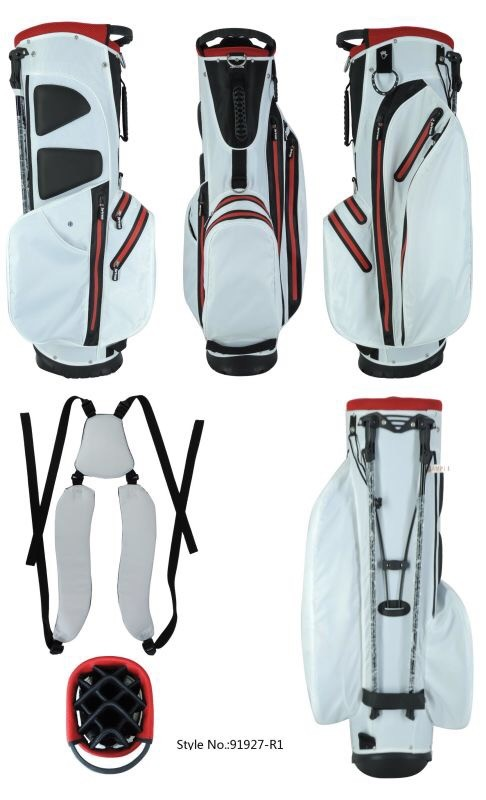 100% Waterproof 14-Way Golf Stand Bag