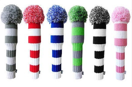 Wool Knitted Golf Club Head Covers